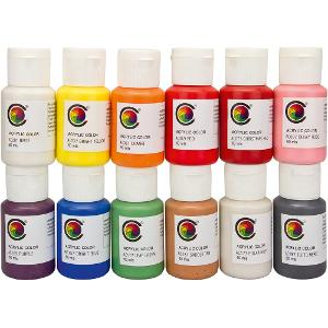 Acrylfarbset AC-Set#1, 12 Stk á 60 ml