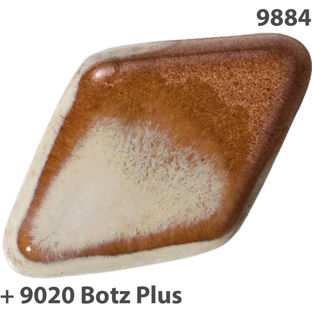 Botz Steinzeug Glasur Wieselbraun 9884 800ml
